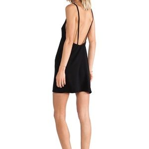 Solace Mini Black dress.